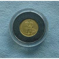 Фолклендские острова, 2 фунта (1997 г.), король Англии Генрих VIII, Золото