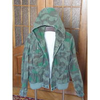 Куртка парка с капюшоном камуфляж осколок splintertarn SS