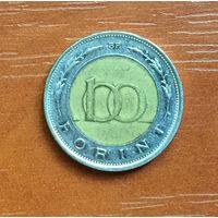 Венгрия, 100 форинтов 1997 (биметалл)