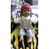Куколка винтажная 30 см