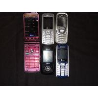 Мобильные телефоны LG , 5 шт.
