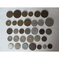 Набор монет старой Европы. Супер подборка!!! Распродажа