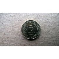 Франция 5 сантимов, 1988г. (Б-3)