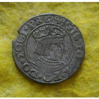 1 грош 1531 г Гданьск Редкий Отличный