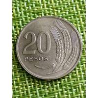 Уругвай 20 песо 1970