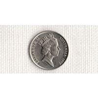 Австралия 10 центов 1998(Uss)