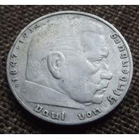 Германия. 2 марки 1937