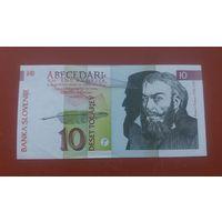 Банкнота 10 толаров Словения 1992