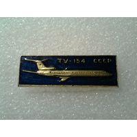 Значок. Ту-154.