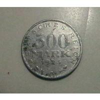 ГЕРМАНИЯ 500 марок 1923