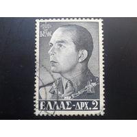 Греция 1956 король Павел 1