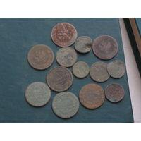 Монеты всякия