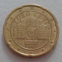 20 евроцентов, Австрия,2002