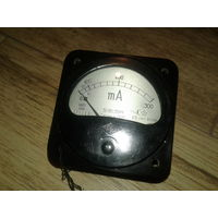 Милиамперметр Э421 0-300
