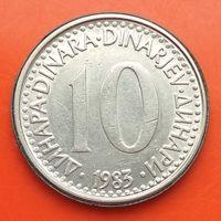 10 динаров 1983 ЮГОСЛАВИЯ