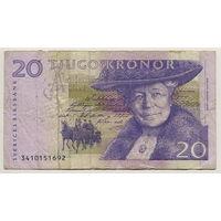 20 крон 1997 года, Швеция