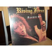 YNGWIE J. MALMSTEEN's Rising Force - Marching Out  LP-1985