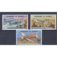 [1548] Джибути 1978. Авиация.Самолеты.