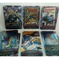 Карточки Человек-Паук 89, 277, 327, 481 (2 шт), 522, 635 Герои и злодеи Marvel