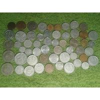 С рубля 55 монет бывших соц.стран + бонус