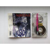 "Аудиокассета Nirvana ""Bleach"""