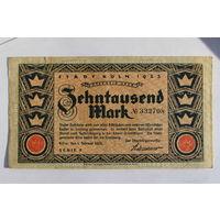 Германия (Кёльн), 1000 марок 1923 год.