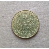 Центральная Африка 25 франков 2006 (BEAC 25 FRANCS)