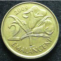 6625: 2 эмалангени 2009 Свазиленд