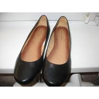Снимаю с продажи!  Новые туфли  (Польша), 40 евро размер, наш 39-39,5 примерно.Натуральная кожа внутри и снаружи