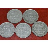 Шри-Ланка 1 рупия(75,78,82,94)