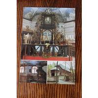 Усмская церковь. Латвия. Фото Э. Вевериса. Чистая. 1989 г.
