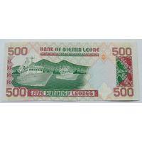 Сьерра-Леоне 500 леоне 1991 XF 519