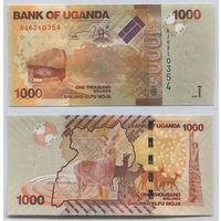 Распродажа коллекции. Уганда. 1 000 шиллингов 2010 года (P-49а - 2010-2019 Issue)