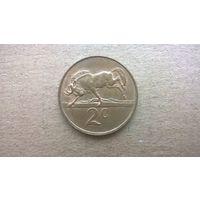ЮАР 2 цента, 1990Г.  (D-11)