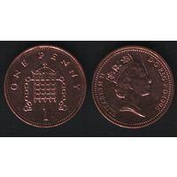 Великобритания _km935a 1 пенни 1996 год (обращ) (h01)
