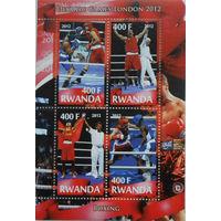 Руанда Олимпиада 2012г.