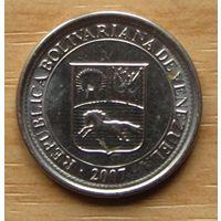 ВЕНЕСУЭЛА,10сентимов2007г. Y# 89