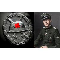 """""""ЗА РАНЕНИЕ"""" 3-й СТЕПЕНИ ОБР. 1939 г. WW2! ОРИГИНАЛ!"""