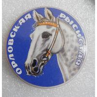 Значок. Лошади. Орловская рысистая #0148
