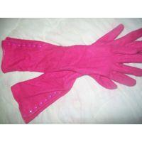Длинные перчатки (зимние)