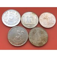 5 монет 5 стран  без повторов #31 Старт с 50 копеек