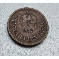 Венгрия 2 филлера, 1937 1-1-29