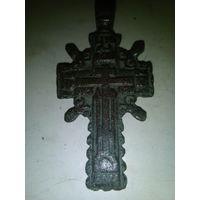 Крестик старинный штурвал