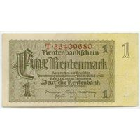 Германия, 1 рентмарка 1937 год.