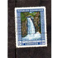 Доминиканская республика.Ми-475.Водопад Хименоа. 1946.