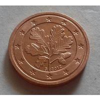 2 евроцента, Германия 2012 G, AU