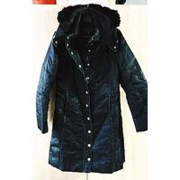Куртка зимняя черная размер М