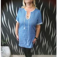 Платье джинсовое 54-56 размер