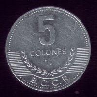 5 Колон 2008 год Коста-Рика
