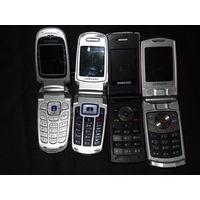 Мобильные телефоны Samsung , 4 шт.